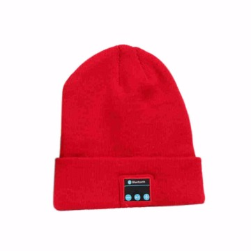 Wireless Beanie Knitted Hat Headset for Listening Music