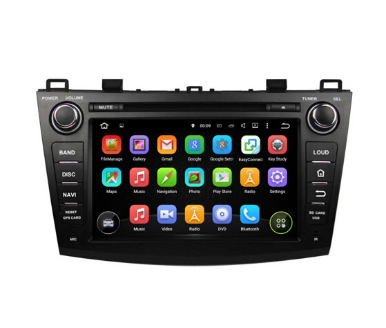 8 Inch Mazda 3 2009-2012 Car DVD Player