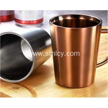304 Stainless Steel Coffee Cup And Water Cup