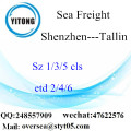Shenzhen Port LCL Consolidation To Tallin