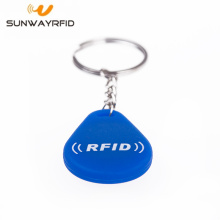 Supply for Abs Custom RFID Keyfob Waterproof rewritable EM4305 125 Khz rfid keyfob export to Bosnia and Herzegovina Factories