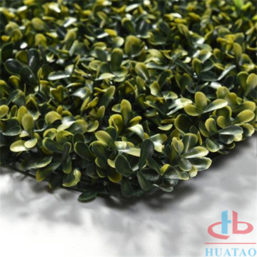 Artificial UV Boxwood Artificial Leaves Privacy Wall