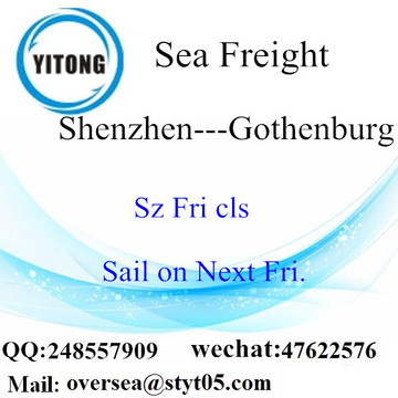Shenzhen Port LCL Consolidation To Gothenburg