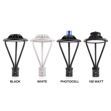 Poste Top 75W Preto LED Pole Light