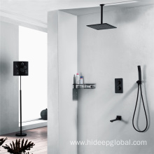 Wall Mounted Thermostatic Rain Shower Faucet