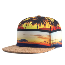 Sublimation Printing Microfiber Hip Hop Cap