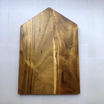 House shape wooden cutting board