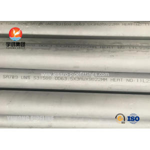 Factory Supply Factory price for Duplex Stainless Steel Pipe Duplex Steel Seamless Pipe ASTM A789 UNS S31500 export to French Guiana Exporter