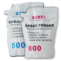 Powder spraying Anti set-off powder