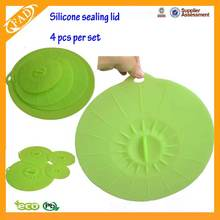 Muti-fuction Custom Food Grade Round Silicone Lid