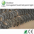 Outdoor corrugated 5watt led point light