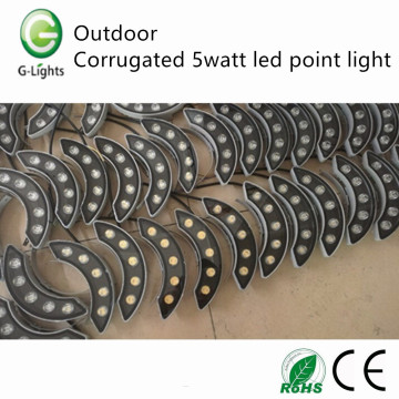 OEM/ODM Supplier for Led Point Light Source Outdoor corrugated 5watt led point light export to Netherlands Factories