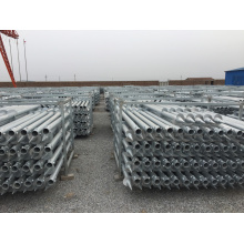 Ground Screw Pile for Flag