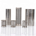 Stainless Steel Cylindrical Sintered Porous Filter Element