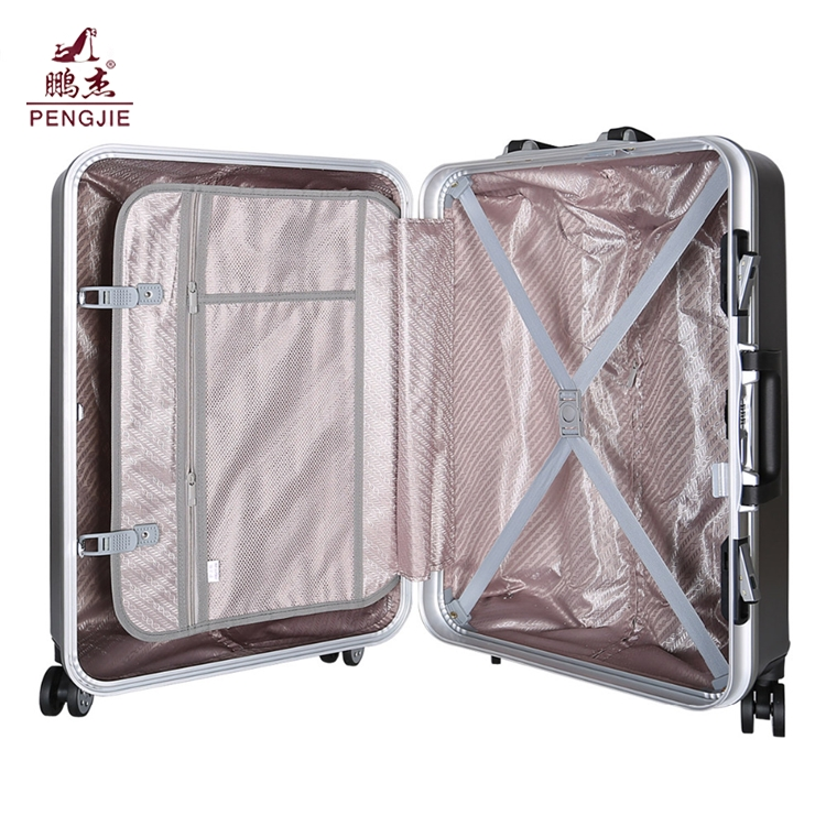Wholesaler beautiful ABS PC luggage with TSA lock7