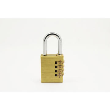 Hot Sale for Brass Combination Door Locks,Brass Combination Padlocks Combination padlock with 4 digit supply to Guadeloupe Suppliers