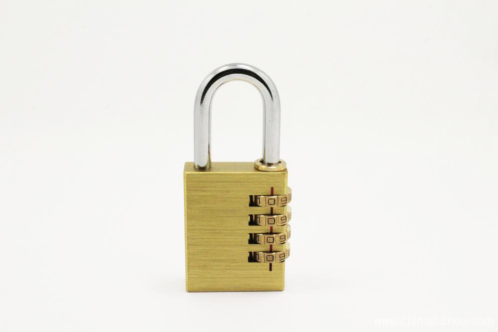 Combination padlock with 4 digit