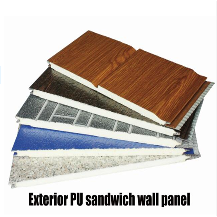 faux woo pu foam wall panel