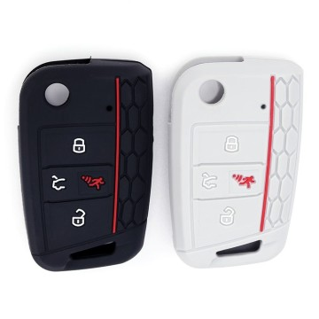 2019 Popular vw 4 button cover fob cover