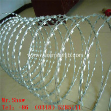 BTO-22 Galvanized Razor Wire For Theft Prevention