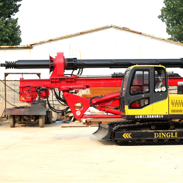 Small hydraulic piling driving equipment