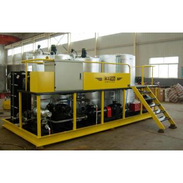 Low power consumption asphalt emulsion plant