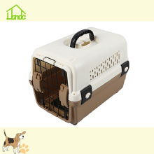 Popular Plastic Kennel Dog Travel Carrier