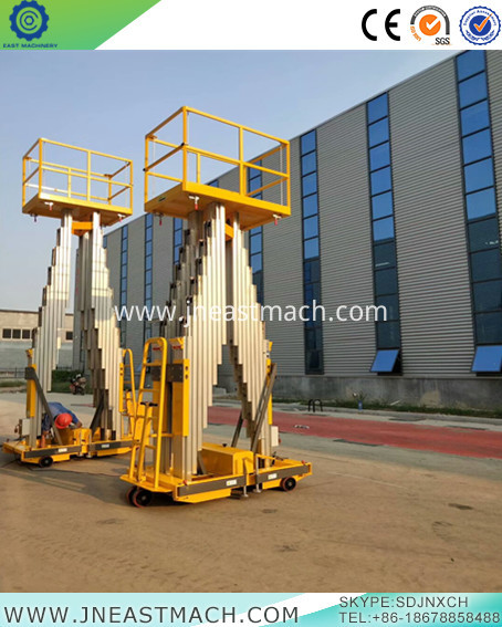 Mobile Man Lift Aluminum Lift Platform