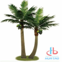 Green Artificial Coconut Palm Tree