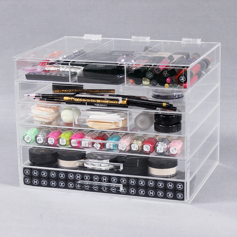 6 Tier Clear Acrylic Cosmetic Organiser