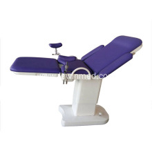 Electric gynecological delivery bed