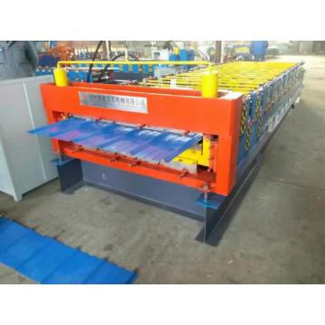 Excellent Double Plate Colored Steel Roll Forming Machine