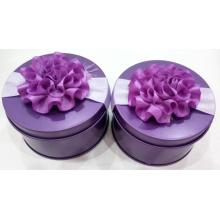 Good Quality for China Candy Tin Box,Purple Candy Tin Box,Custom Candy Tin Box Manufacturer and Supplier Round Type Fancy Candy Tins supply to Italy Factories
