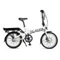 Dual disc brake electric bicycle