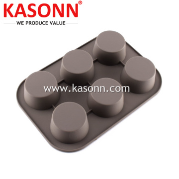 Large Silicone Pudding Mold Pan for Cupcake