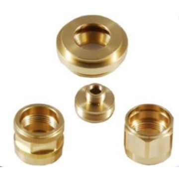 Custom hot forged CNC brass pipe part
