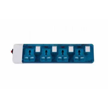 4 Outlet Universal Extension Socket