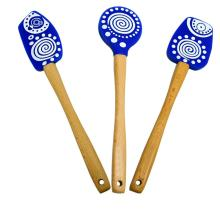 FDA LFGB Silicone Spatula Set Of 3
