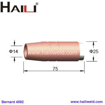 4592 Tapered Copper Nozzle 9/16 for Bernard