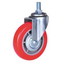 Special for Pu Stem Caster 5inch PP/PVC swivel casters export to Kenya Supplier