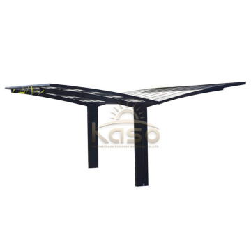 Polycarbonate Sheet Roof Aluminum Double Carport