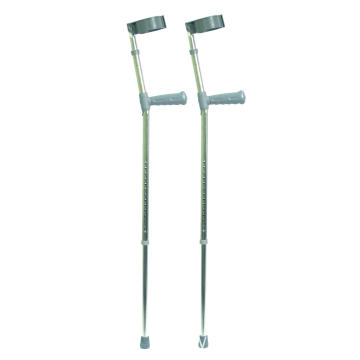 Crutch With PVC Handles