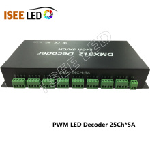PWM DMX LED Decoder 24channels