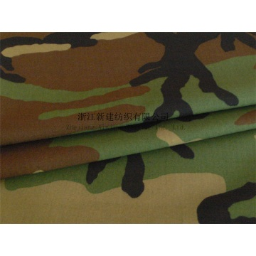 Wholesale Middle East Camouflage TC Ripstop Fabric
