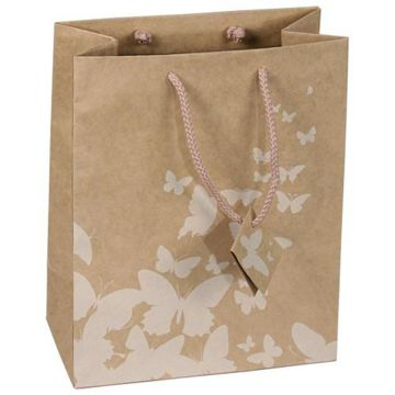 Retail kraft paper food bags custom printed