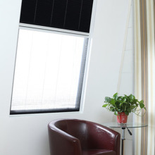 retractable adjustable plissee screen window
