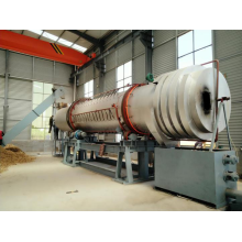 High Quality Industrial Factory for Charcoal Machine Equipment Rotary coconut shell charcoal kiln export to Luxembourg Importers