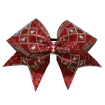 Personlized Products for Cheer Bows low price prismatic shape girls cheer bows supply to Saint Kitts and Nevis Exporter
