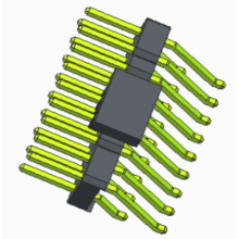 2.54mm Pin Header Dual Row SMT With Post