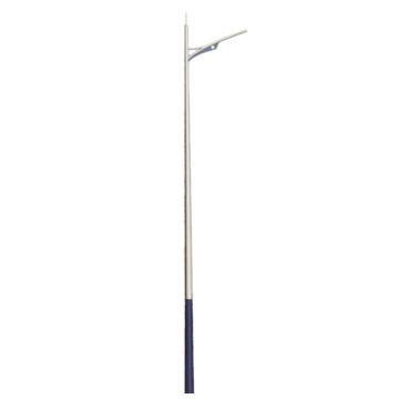 Outdoor plaza lighting fixtures LED lamp pole